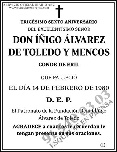 Íñigo Álvarez de Toledo y Mencos